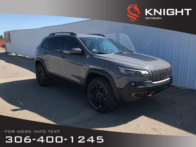New 2019 Jeep Cherokee Trailhawk | Fall Blow Out Sales Event | $218 Bi-Weekly + Tax