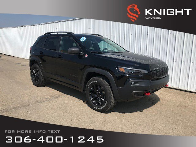 new 2019 jeep cherokee trailhawk elite heated ventilated seats bluetooth navigation