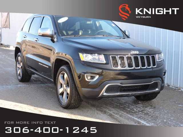 Leather Jeep Seats >> Pre Owned 2015 Jeep Grand Cherokee Limited 4x4 Leather Heated Seats Nav Sunroof Back Up Camera Remote Start 4wd Sport Utility