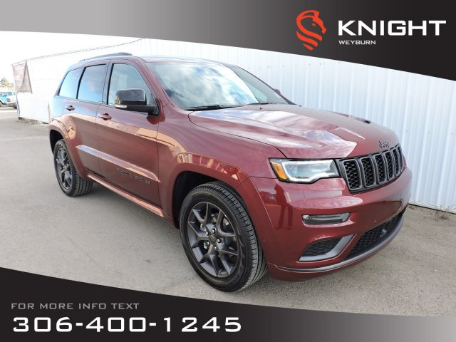 New 2020 Jeep Grand Cherokee Limited X 4x4 | Heritage Leather Seats | Navigation | Panoramic Sunroof | Back-up Camera | Bluetooth