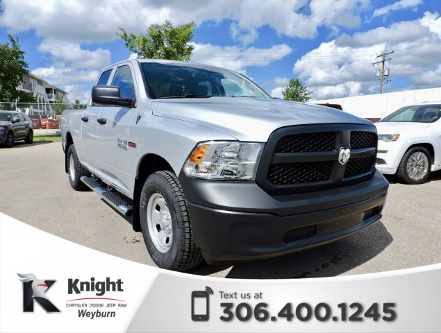 New 2018 Ram 1500 Tradesman Quad Cab Ecodiesel Back Up Camera Quad