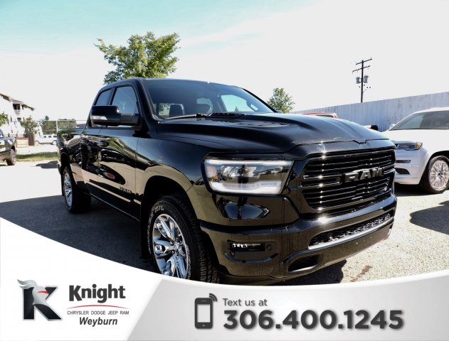 New 2019 Ram 1500 Sport Quad Cab Heated Seats Heated Steering