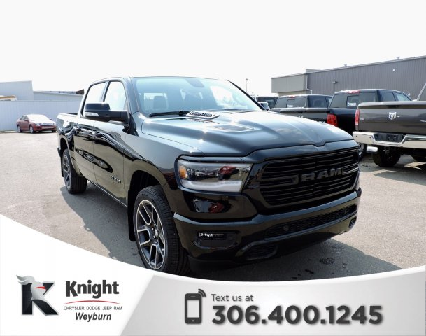 New 2019 Ram 1500 Sport Heated Cooled Leather Spray In Bedliner Nav Back