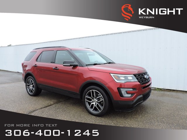 Pre-Owned 2016 Ford Explorer Sport | Bluetooth | Heated & Ventilated Seats | 3rd Row Seating