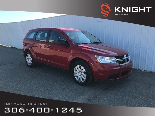 Pre-Owned 2016 Dodge Journey Canada Value Pkg | Media Center | Rear Fold-Flat Seat | Low KM