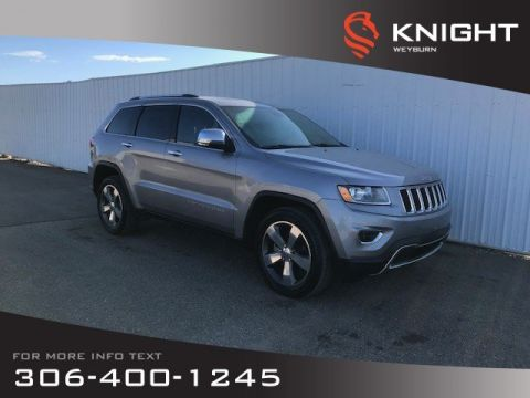 Pre-Owned 2015 Jeep Grand Cherokee Limited | Heated Seats | Heated Steering Wheel | Backup Camera