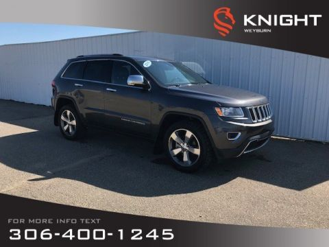 Pre-Owned 2016 Jeep Grand Cherokee Limited | Heated Seats | Heated Steering Wheel | Backup Camera