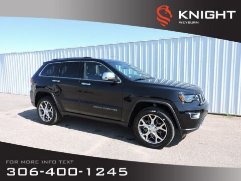 New 2020 Jeep Grand Cherokee Limited | Leather Heated Front & Back Seats | Sunroof | Navigation | Back-up Camera | Bluetooth