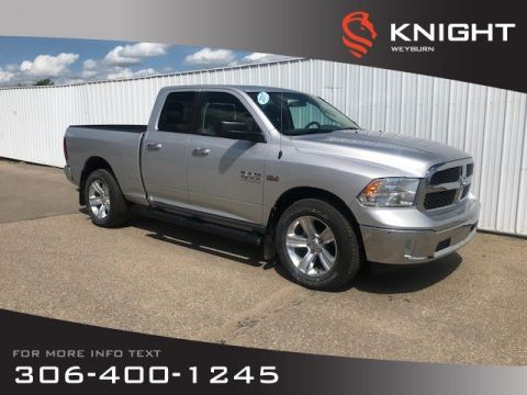 Pre-Owned 2017 Ram 1500 SLT Quad Cab | Remote Start | Back-up Camera