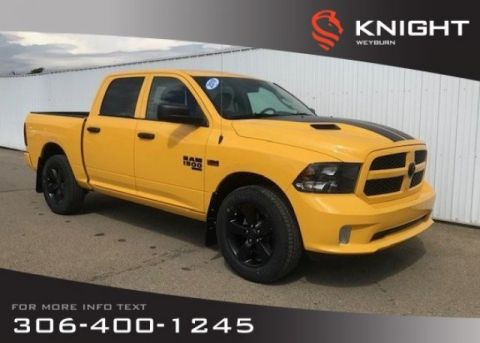 New 2019 Ram 1500 Classic Express Blackout Crew Cab 4x4 | 5.7L HEMI V8 | Back-up Camera | Media Hub | Bluetooth