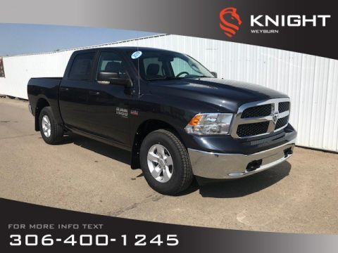 New 2019 Ram 1500 Classic SLT Crew Cab 4x4 HEMI | Mopar Katzkin Leather Heated Seats & Steering Wheel | Sunroof | Remote start