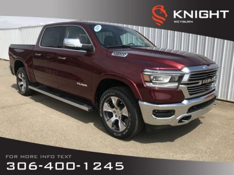 New 2019 Ram 1500 Laramie Crew Cab 4x4 | $349 Bi-Weekly + Tax