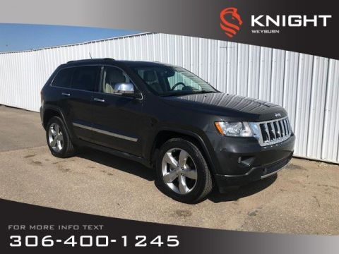 Pre-Owned 2011 Jeep Grand Cherokee Limited | Heated Seats | Heated Steering Wheel | Backup Camera
