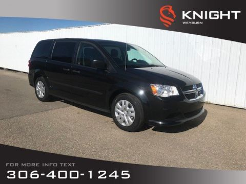 Pre-Owned 2016 Dodge Grand Caravan Canada Value Package | 3rd Row Seating | Keyless Entry | Low KM