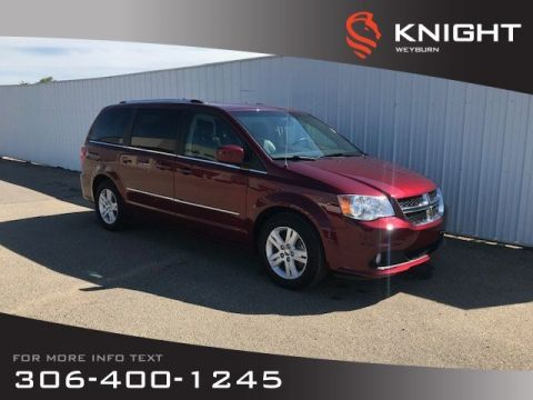 Pre-Owned 2016 Dodge Grand Caravan Crew Plus | Heated Seats | DVD | 3rd Row Seating